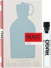 Духи, Парфюмерия, косметика Hugo Boss Hugo Iced - Туалетная вода (пробник)