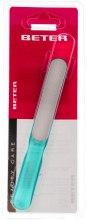 Парфумерія, косметика Пилка для нігтів з лазерною поверхнею, ергономічна, синя - Beter Beauty Care
