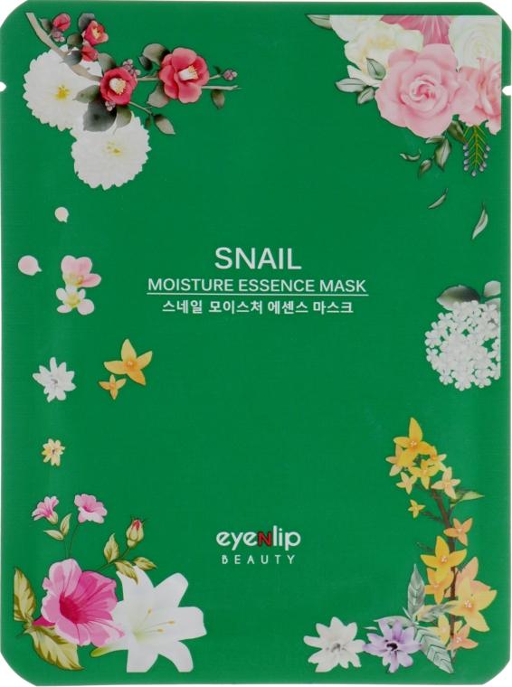 Маска для лица улиточным экстрактом - Eyenlip Snail Moisture Essence Mask