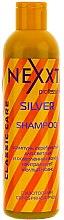 Духи, Парфюмерия, косметика Шампунь серебристый для светлых и осветленных волос с изотопами серебряной руды - Nexxt Professional Silver Shampoo (мини)
