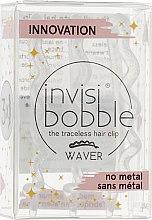 Духи, Парфюмерия, косметика Заколка для волос, прозрачная с блестками - Invisibobble Waver Sparks Flying