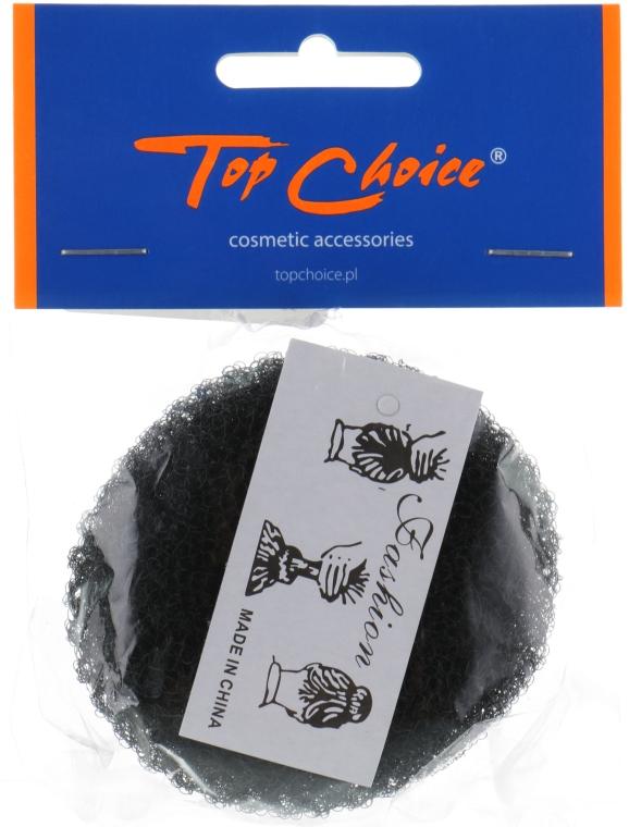 Валик для прически 20353, черный, размер S - Top Choice