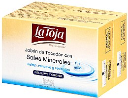 Духи, Парфюмерия, косметика Набор - La Toja Hidrotermal Toilet Soap With Salt Mineral (soap/2х125g)