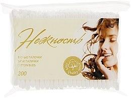 Парфумерія, косметика Ватные палочки, в полиэтеленовой упаковке, 200шт - Нежность