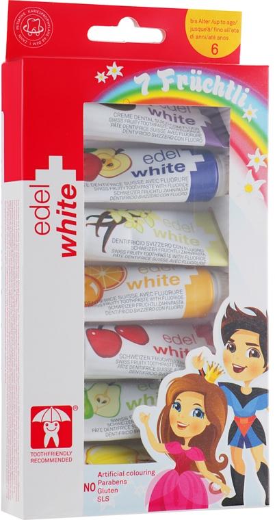 """Детская зубная паста """"7 фруктов"""" - Edel+White 7 Fruchtli"""