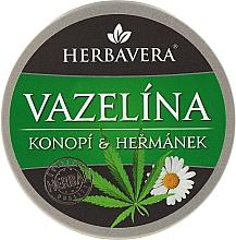 Духи, Парфюмерия, косметика Вазелин с ромашкой на конопляном масле - Herbavera