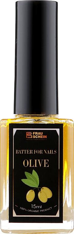 """Баттер жидкий для ногтей и кутикулы """"Олива"""" - Frau Schein Batter For Nails Olive"""