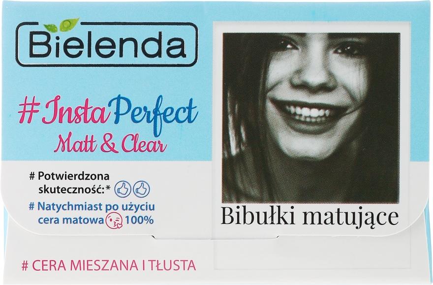 Матирующие салфетки для лица - Bielenda Insta Perfect Matt & Clear