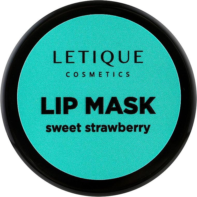 """Маска для губ """"Сладкая клубника"""" - Letique Cosmetics Lip Mask"""