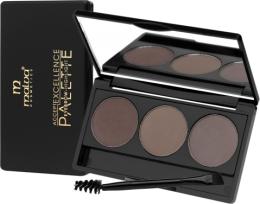 Духи, Парфюмерия, косметика Тени для бровей - Malva Cosmetics Excellence Palette Eyebrow Highlight