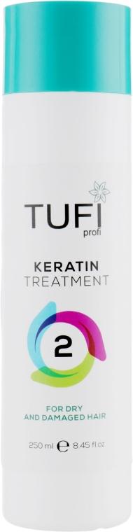 Кератин для сухих и поврежденных волос - Tufi Profi Keratin Treatment