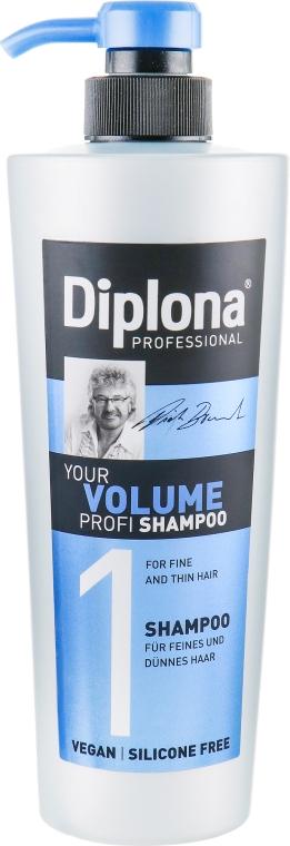 """Шампунь для нормальных и тонких волос """"Объем"""" - Diplona Professional Volume Shampoo"""