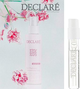 Термальная успокаивающая вода - Declare Stress Balance Skin Meditation Concentrated Spray (пробник) — фото N1