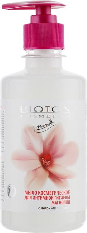 """Мыло косметическое для интимной гигиены """"Магнолия"""" - Bioton Cosmetics Nature"""
