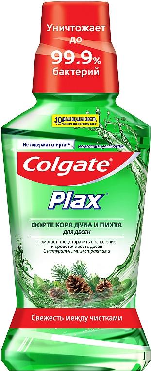"""Ополаскиватель полости рта для десен """"Кора дуба и пихта"""", антибактериальное очищение - Colgate Plax"""
