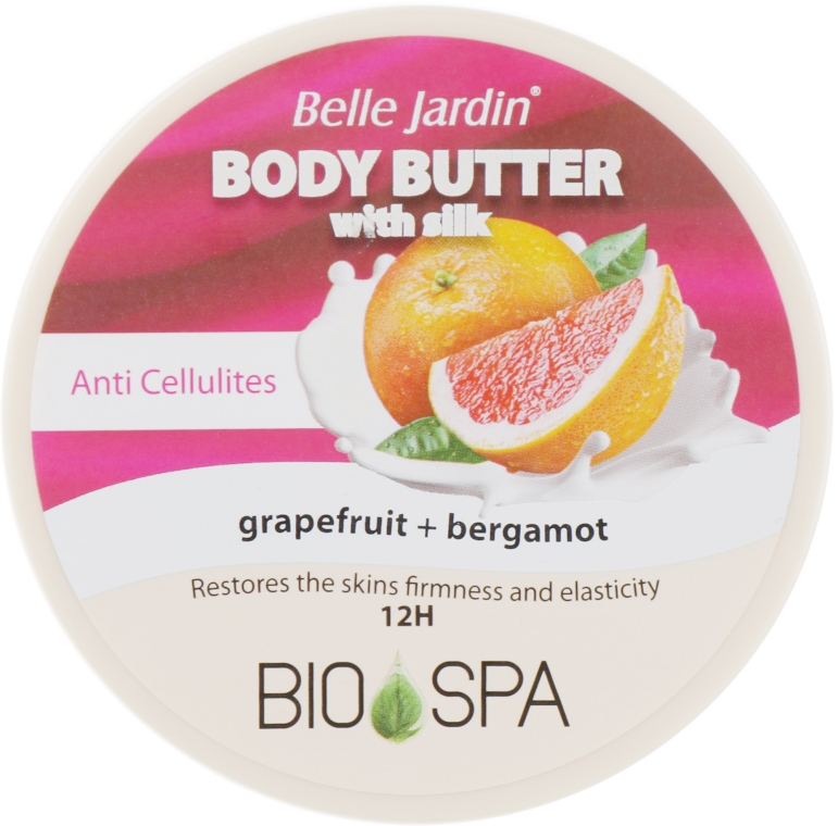 "Крем для тела антицеллюлитный ""Грейпфрут и Бергамот"" - Belle Jardin Body Butter Cream"