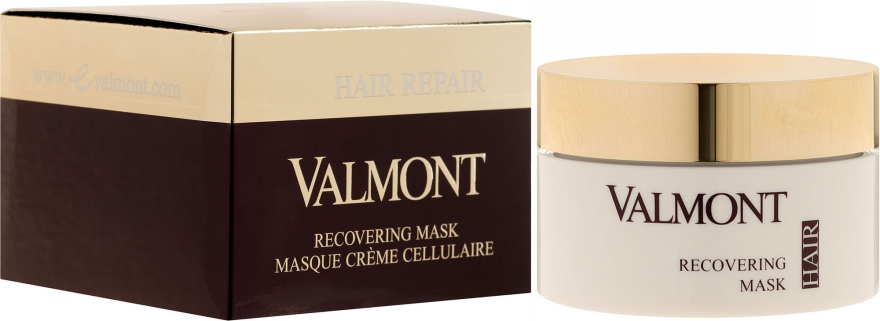 Восстанавливающая маска для волос - Valmont Hair Repair Restoring Mask — фото N1