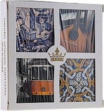 Духи, Парфюмерия, косметика Набор - Essencias De Portugal Living Portugal (soap/4x50g)