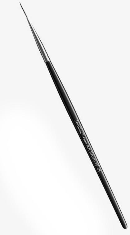 Кисть для дизайна ногтей №05 - Semilac Nail Art Brush N05