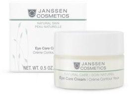 Духи, Парфюмерия, косметика Разглаживающий и укрепляющий крем для ухода за кожей вокруг глаз - Janssen Cosmetics Eye Care Cream