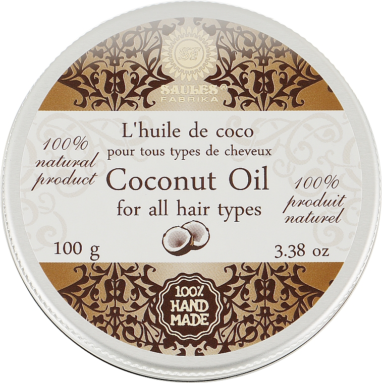 "Масло для волос ""Кокос"" - Saules Fabrika Coconut Oil"