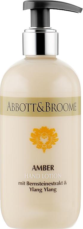 Лосьон для рук - Abbott&Broome Amber Hand Lotion