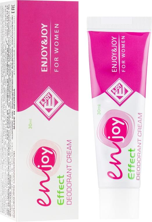 Эко-крем-дезодорант - Enjoy & Joy For Women Deodorant Cream (туба)