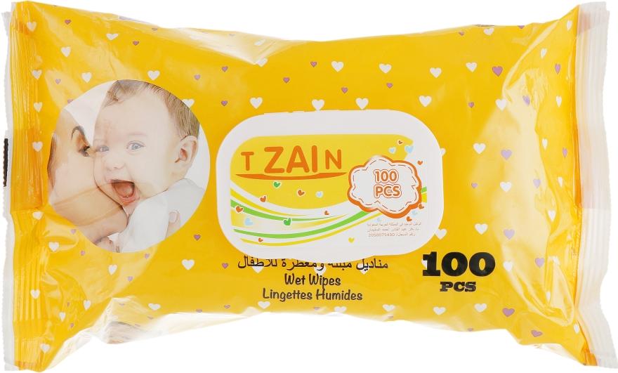 Детские влажные салфетки - Gian T Zain
