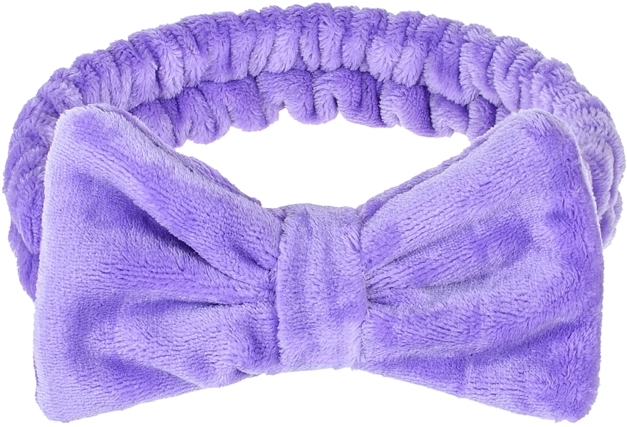 "Косметическая повязка для волос, сиреневая ""Wow Bow"" - Makeup Lilac Hair Band"
