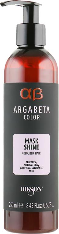 Маска для окрашенных волос - Dikson Argabeta Color Mask Shine