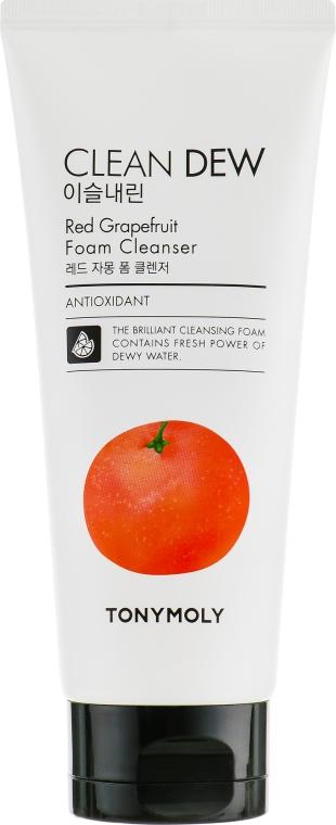 Пенка для умывания, грейпфрут - Tony Moly Clean Dew Foam Cleanser Grapefruit