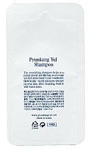 Парфумерія, косметика Органический укрепляющий шампунь с экстрактом имбиря - Pyunkang Yul Shampoo (пробник)