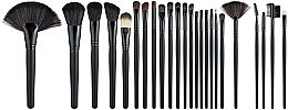 Духи, Парфюмерия, косметика Профессиональный набор кистей для макияжа, 24шт - Cosmo Shop Makeup Brush Professional