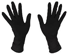 Духи, Парфюмерия, косметика Перчатки латексные, черные - Bifull Professional