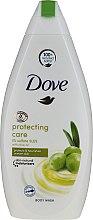 Духи, Парфюмерия, косметика Гель для душа с маслом оливы - Dove Protect Care Body Wash