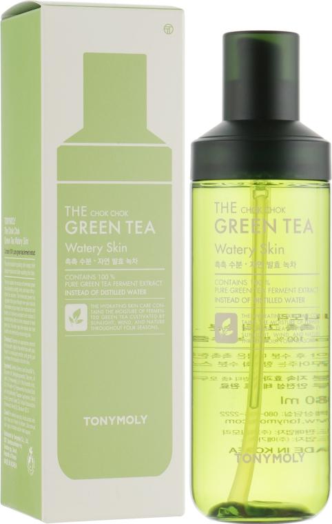 Тоник для лица - Tony Moly The Chok Chok Green Tea Watery Skin
