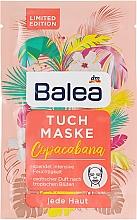 Духи, Парфюмерия, косметика Тканевая маска для всех типов кожи - Balea Copacabana Sheet Mask