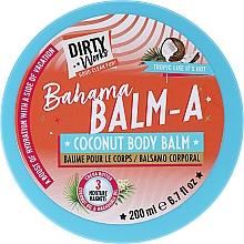 Духи, Парфюмерия, косметика Кокосовый бальзам для тела - Dirty Works Bahama Balm-A Coconut Body Balm