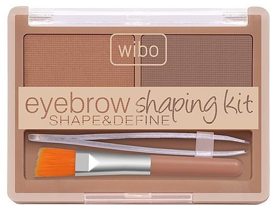 Набор для оформления бровей - Wibo Eyebrow Shaping Kit