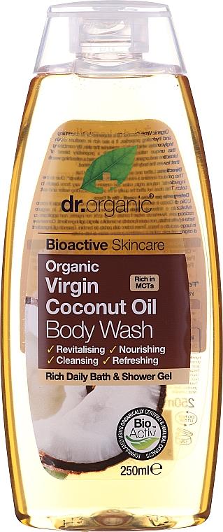 Органическое средство для мытья тела с кокосовым маслом - Dr. Organic Bioactive Skincare Organic Coconut Virgin Oil Body Wash