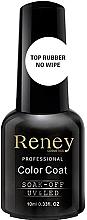 Духи, Парфюмерия, косметика Закрепитель гель-лака - Reney Cosmetics Top Rubber No Wipe