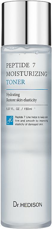 Тоник с пептидами против морщин - Dr.Hedison Peptide 7 Moisture Toner