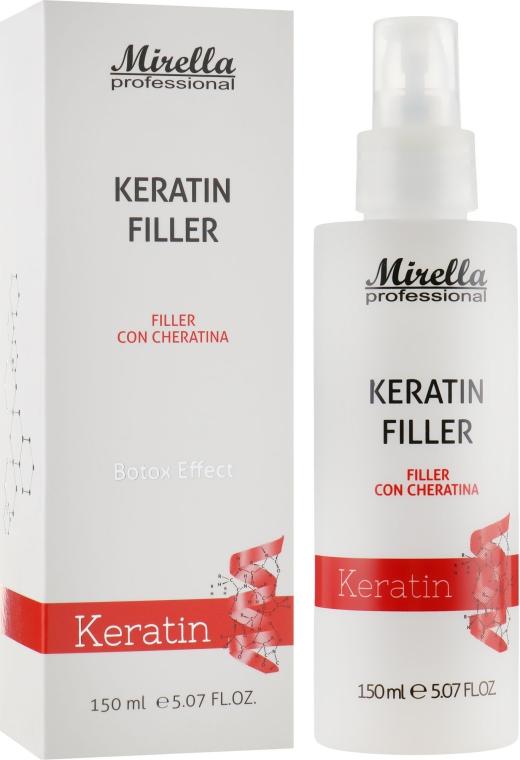 Кератиновый филлер с эффектом ботокса - Mirella Keratin Filer