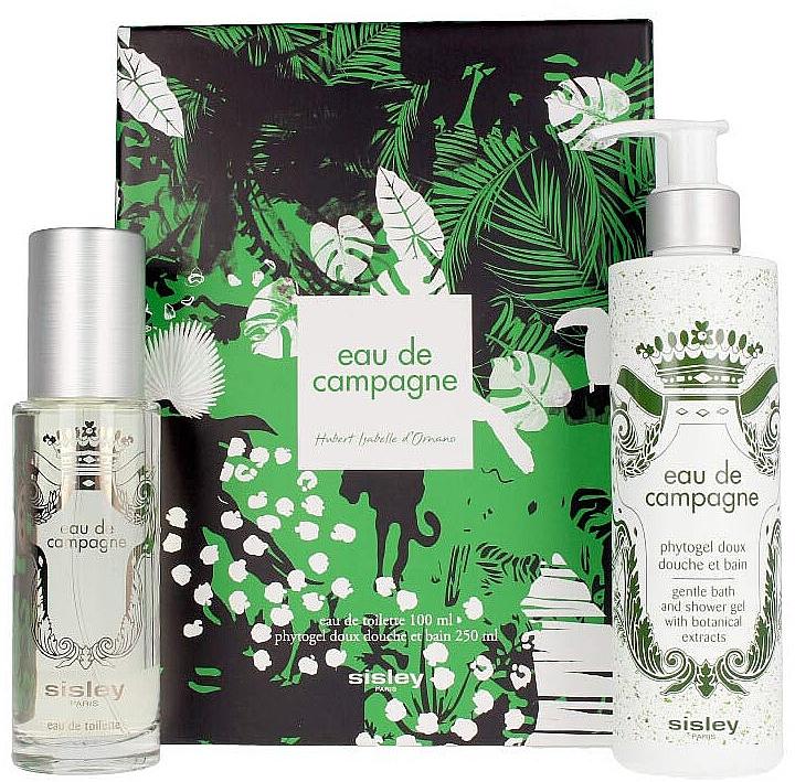 Sisley Eau De Compaigne Jungle Gift Set - Набор (edt/100ml+sh/gel/250ml)