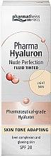 Духи, Парфюмерия, косметика Тонирующий флюид - Pharma Hyaluron Nude Perfection SPF 20