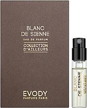 Духи, Парфюмерия, косметика Evody Blanc de Sienne - Парфюмированная вода (пробник)