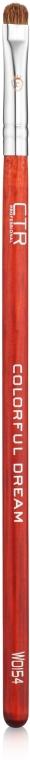 Кисть для нанесения теней из ворса песца, W0154 - CTR