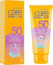 Духи, Парфюмерия, косметика Солнцезащитный крем для детей - Avon Sun+ Kids Multivitamin Sun Cream SPF50