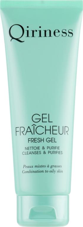 Очищающий гель для лица - Qiriness Flaicheur Fresh Gel