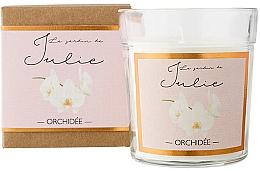 """Духи, Парфюмерия, косметика Ароматическая свеча """"Орхидея"""" - Ambientair Le Jardin de Julie Orchidee"""
